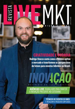 Capa Revista Live Marketing Ano 9, n.º 35 – 2020