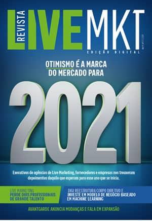 Capa Revista Live Marketing Ano 9, n.º 37 – 2021